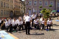 Blasorch. - Marktplatzfest 2008