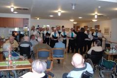 Männerchor zu Gast im Seniorenheim Glan-Münchweiler