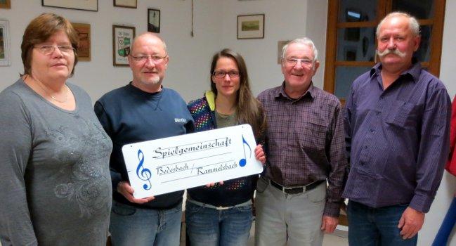 Vertragsunterzeichnung der Spielgemeinschaft Bedesbach-Rammelsbach