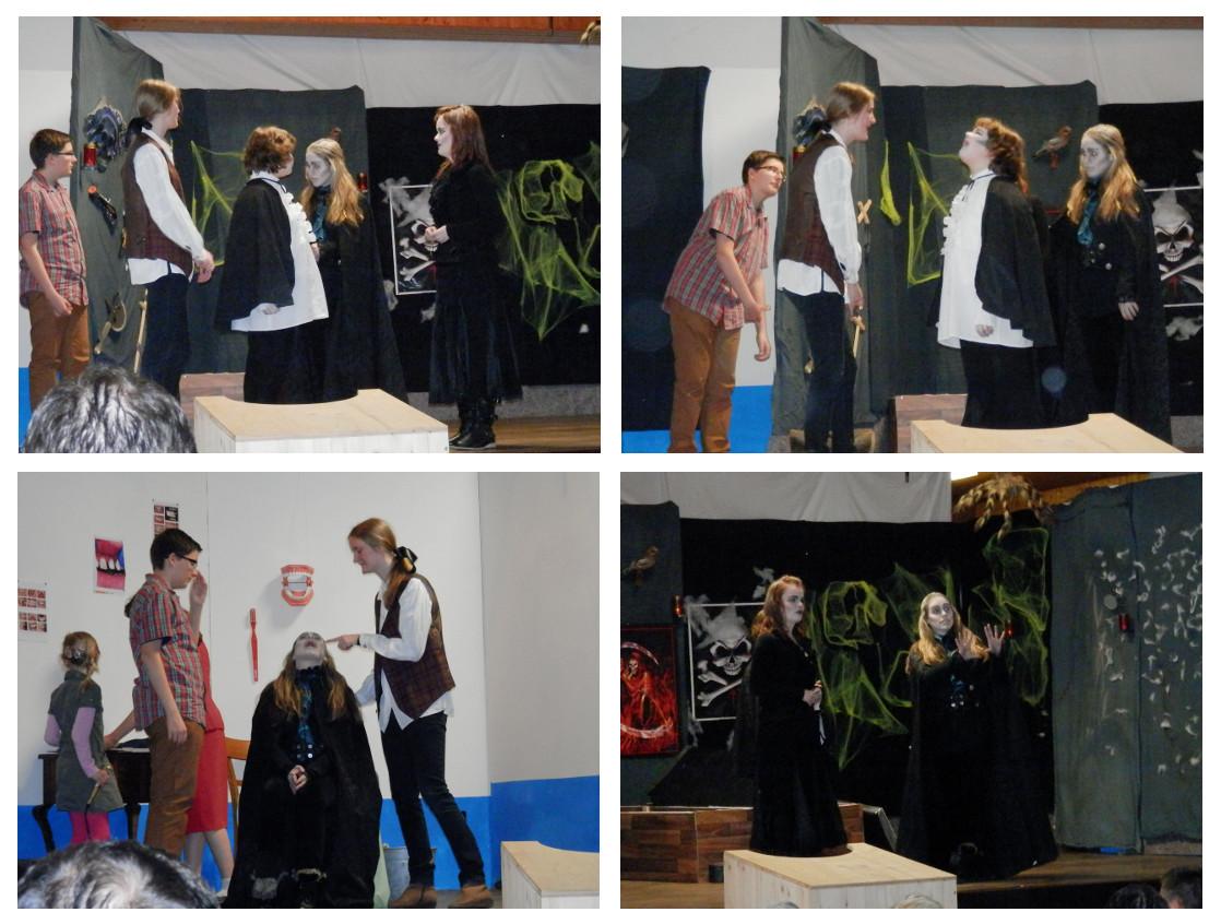 """Jugendtheater präsentiert ein bissiges Theaterstück  -  """"Vampire waren auch nur Menschen"""""""