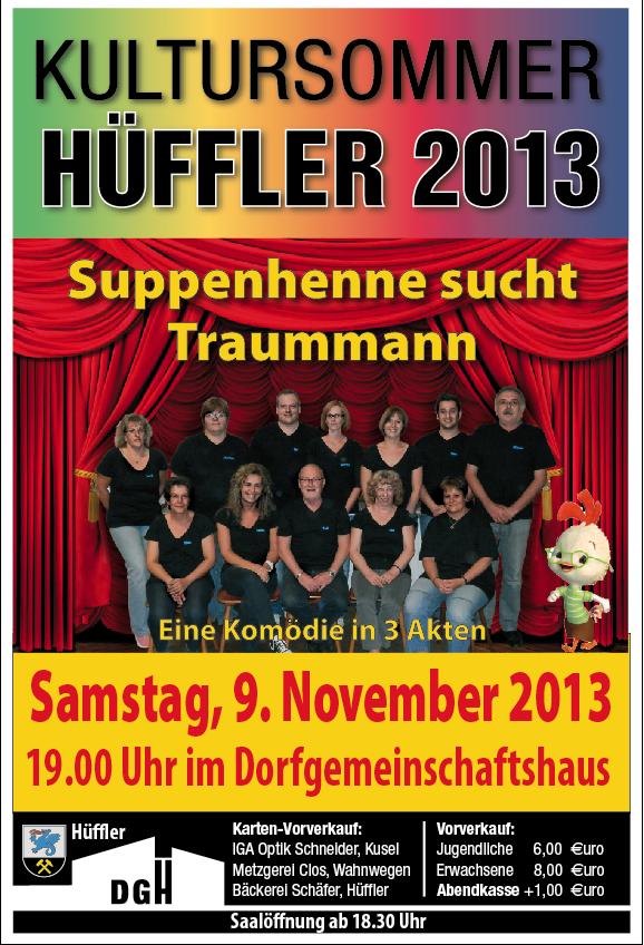 Theateraufführung der Theatergruppe des Gesang-und Unterhaltungsverein Bedesbach